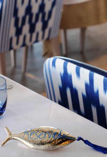 Mesa reservada en el restaurante